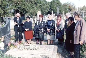 Na hrobe A. Prokop