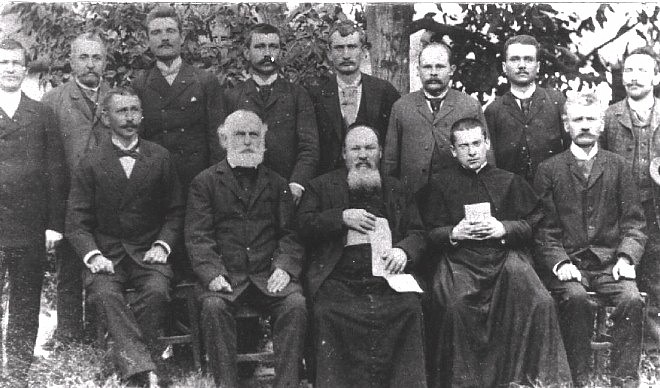 Teachers and officials in Keestur (1893)