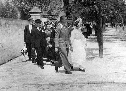 The wedding procession - Svadzebna kolona